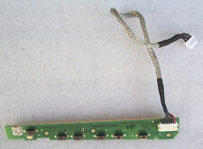 LCD POWER BUTTON BOARD PULSANTI PANNELLO LCD PC ACER X193W E59670 490061500100R