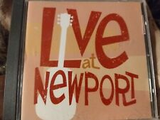 Time Life --Folk: Live At Newport [Various]-- CD w/12 Trks