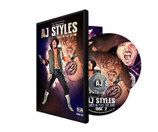 """Official ROH Ring of Honor Phenomenal AJ Styles """"No Place Like Home"""" 2 DVD Set"""