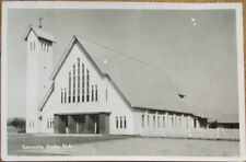 Savoneta, Aruba 1961 Realphoto Postcard: Church Building