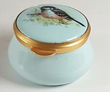 More details for the staffordshire enamels old hall trinket box.