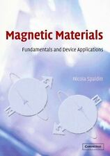 Magnetic Materials: Fundamentals and Device Applications