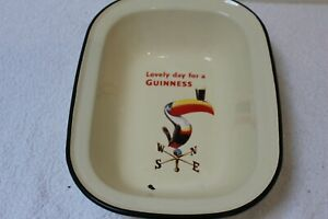 Collectable vintage style Guiness Enamel Tin Casserole dish Toucan from 2013