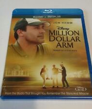 Million Dollar Arm Blu-Ray Disc & Digital HD Copy NEW SEALED