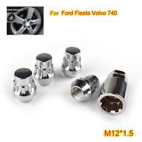 4x for Ford Fiesta 95-17 MK all models Locking Alloy Wheel Nut Lug Bolt M12x1.5