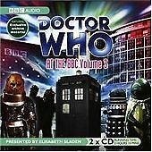 """Doctor Who"" at the BBC:Volume 3  2 x CD Audio Book Elisabeth Sladen"