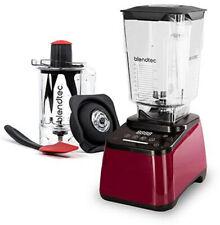 Blendtec® Designer 625 Blender Bundle with Twister JAR POMEGRANATE RED NEW!