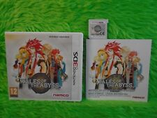 3DS TALES OF THE ABYSS Game RPG NAMCO Nintendo 3DS XL PAL UK
