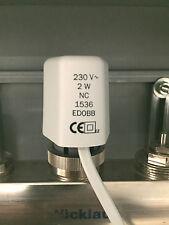 Stellantrieb für Fußbodenheizung / Heizkreisverteiler M30x1,5 nur 37mm Baubreite