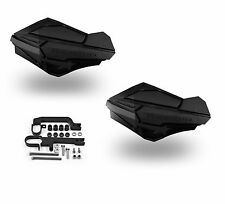 Powermadd Sentinel Handguards Guards Kit Black Snowmobile Snow Ski Doo Summit