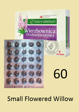 small flowered willow herb 60 tablets Epilobium parviflorum Prostate health