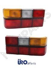 Volvo 240 244 Pair Set of Left+Right Tail Light Assemblies w/ Black Trim Uro