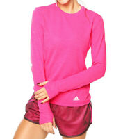 Adidas Supernova Long Sleeve Women Running Top - Pink AI8227 RRP £39.99