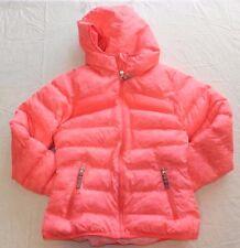 GIRLS pink padded warm COAT JACKET = CHAMPION = SIZE 6 6X = wh57