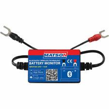 Matson Battery Monitor Bluetooth Wireless Test Charging Cranking Battery MA98412