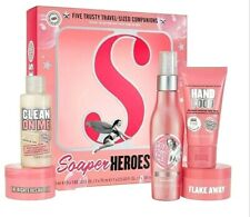 Soap & Glory Soaper Heroes Gel Body Scrub Butter Spray Lotion Travel Size New