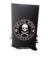 DEATH WISH WHOLE BEAN COFFEE USDA CERTIFIED ORGANIC 1 Lb