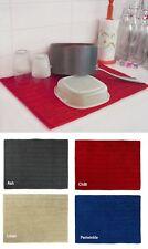Bambury Microfibre Super Absorbent Machine Washable Dish Drying Mat