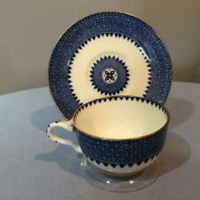 Wedgwood Lynn bone china split handle cup and saucer X8784
