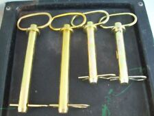 Lot of 4 Hitch Pins , 3/4 x 6 and 3/4 x 4 ; Free Shipping !!