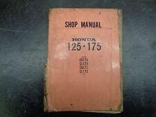 Honda Cl Cb 125 175 Shop Manual 1005