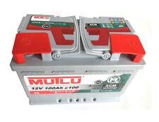 Mutlu AGM Batteria Solare 12v 100ah CAMPER CAMPEGGIO BARCA approvvigionamento riabilitazione