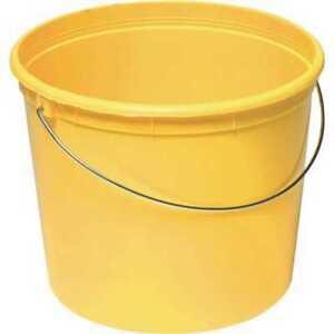 Warner 5-qt. Plastic Bucket with Steel Handle
