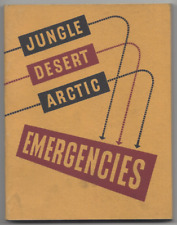 vtg JUNGLE DESERT ARCTIC EMERGENCIES book U.S. ARMY AIR FORCES military WWII ?