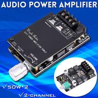 HIFI Wireless bluetooth 5.0 TPA3116 Digitale Audio Power Amplifier 50WX2 Stereo