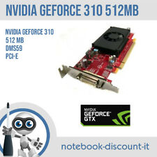 Scheda grafica NVIDIA GeForce 310 512mb 1x DMS-59 PCI-e 89Y9227 working tested