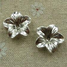 free ship 240 pcs tibetan silver nice bead cap 17mm #2410