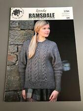 Wendy Ramsdale Knitting Pattern - Jumper - 76-132cm (5784)