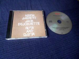 CD Keith Jarrett & Jack DeJohnette - Ruta & Daitya  ECM Records 1973