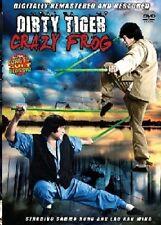 Dirty Tiger Crazy Frog - Hong Kong Kung Fu Martial Arts Action movie DVD - NEW D