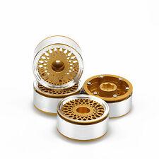 "ALIENTAC Four(4) 1.9"" Wide 1"" Alloy Beadlock Wheel Rim for 1/10 RC Model #024"