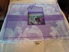 925 Prayer Box Braclet Kit~semi precious stones with beads New