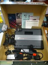 ATARI 7800 Console TESTED  w/ Power, Controllers ,& Box w/ Paper work