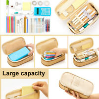 76 Student Large Capacity School Pen Pencil Cases Zip Stationery Pouch Bag Case