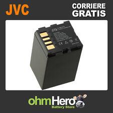 Batteria Hi-Quality per Jvc Everio GZ-MG37E