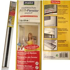Mako 885103 Protector insectos para ventana 110 x 130 CM ALUMINIO BLANCO