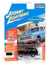 JOHNNY LIGHTNING JLCP7000 1969 CHEVROLET BLAZER with TOW HITCH 1/64 BLACK