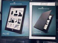 """Energy System eReader Pro HD 8GB Wi-Fi 6"""" eBook Reader - Con Funda Original"""