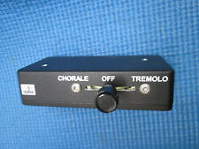 MODERN 3 Way Leslie Hammond Chorale Tremolo Control Switch - VERY CLEAN!