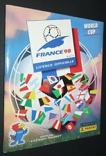 ALBUM PANINI FOOTBALL FIFA WORLD CUP FRANCE 98 COUPE MONDE 1998 COMPLET