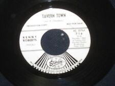 "Kenny Roberts ""Guitar Ringing/Tavern Town"" 45 PROMO"