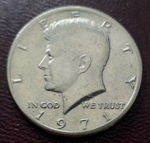 USA Kennedy Half Dollar 1971