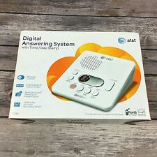 At&T Digital Answering System Model 1740 Time/Day Stamp 60 Min Record Time Nib