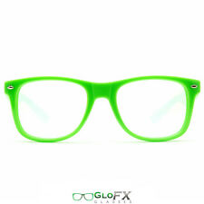 Rave Glasses ** Best Quality ** Great w/ LED Gloves Orbits Poi and Raves GREEN
