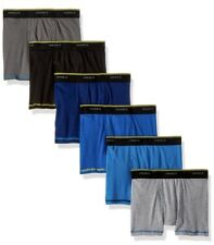 Hanes Cool Comfort Lightweight Breathable Mesh Tagless Boys Boxer Briefs 6pk Sml