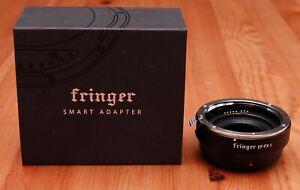 Fringer EF-FX II AF Lens Adapter for Canon EOS to Fuji X Mount camera